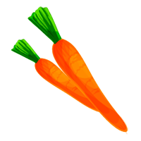 zanahoria de domyfruit